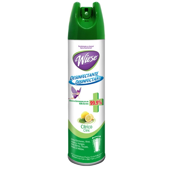 Desinfectante en aerosol Wiese 400 ML/323 G