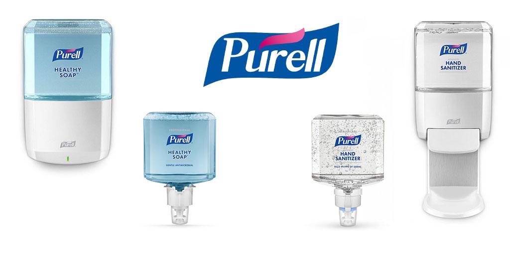 Dispensadores Purell ES