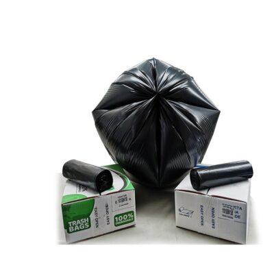 Bolsa En Rollo Fondo Estrella Biodegradable Bajo Densidad