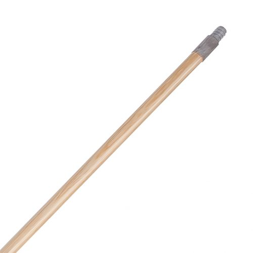 baston de madera punta metalica